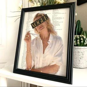 Vogue Theme Handmade 8x10 Fashion Collage